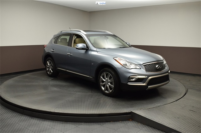 Pre-Owned 2017 INFINITI QX50 Premium Plus